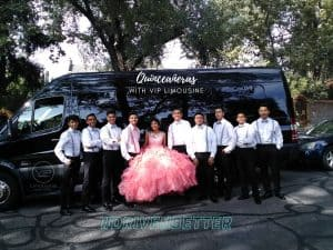 Quinceaneras with VIP Limousine